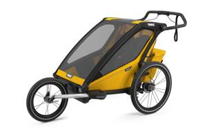 Thule Chariot Sport 2 Spectra Yellow 2021 + Run Set