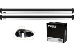 Thule  WingBar EVO,  BMW  2-serie, 2-dr Coupé,14- , Kit 3028